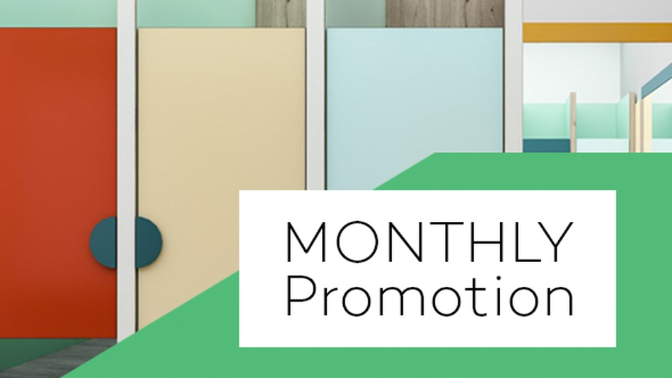 NOVODECOR® Monthly Promotion